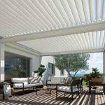 verstellbare Dachlamellen