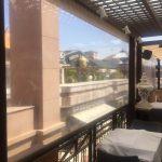 Terrassendach Wetterschutz