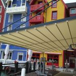 Terrassenüberdachung ohne Pfosten